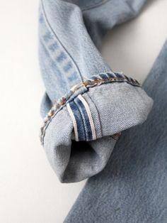 vintage Levi's 501 red line selvedge denim jeans, waist 26