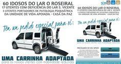 Campanha da Santa Casa de Albufeira para a carrinha adaptada | Algarlife
