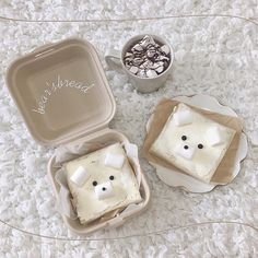 Cream Aesthetic, Aesthetic Food, Cafe Menu, Cafe Food, Bakery Menu, Korean Cake, Dessert Boxes, Bakery Business, Cute Desserts