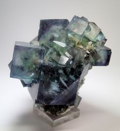 Phantom Fluorite - Okorusu mine, Namibia