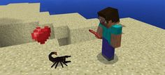 In Scorpions Add-on, scorpions will replace the spiders in an effective way. As you know, scorpions can become a great dish for both humans and animals. However, you will find it interesting to tame young scorpion into your lovely pet. An adult scorpion has the ability of protecting you from any... http://mcpebox.com/scorpions-add-minecraft-pe/