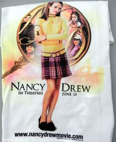 Jenn's Collection - 2007 Warner Brothers Nancy Drew Movie Collectibles - http://www.nancydrewsleuth.com