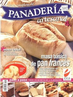 """Cover of """"Panaderia"""" Mexican Sweet Breads, Mexican Food Recipes, Bakery Recipes, Cooking Recipes, Healthy Recipes, Yeast Dough Recipe, Chorizo, Venezuelan Food, Salty Foods"""