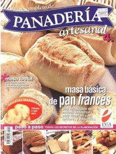Revista con la mejores recetas de la panaderia.
