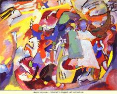 Wassily Kandinsky. All Saints I.