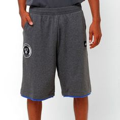 Bermuda Adidas NBA Brooklyn Nets - Cinza