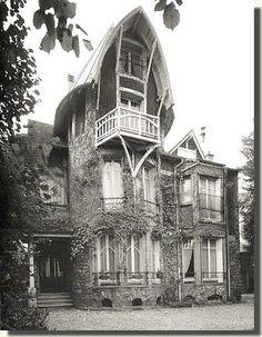 Villa Hemsy Saint Cloud (Hauts de Seine) Hector Guimard  1913