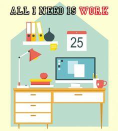 Trucos trabajar mejor desde casa. 07/04/16