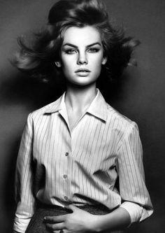 Jean Shrimpton, 1961.