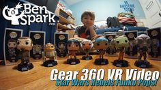Star Wars Rebels Funko Pops!  - Samsung Gear 360 VR Video  I bought the Star Wars Rebels Funko Pops! today and made an unboxing video as well as a 360 video. So you can pop on your Gear VR and take this video for a spin to see the Star Wars Rebels Funko Pops!  Music by Epidemic Sound (http://www.epidemicsound.com)   Thanks for watching!  Please ****SUBSCRIBE****  Check out my second channel, Big DAMN Kid over at http://www.youtube.com/c/BigDamnKid