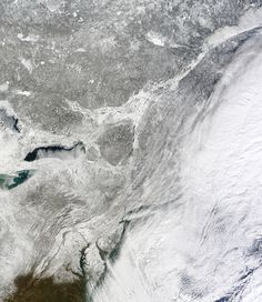 The Impressive Aftermath of the East Coast Blizzard Seen From Space - Wired Science