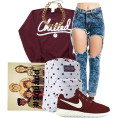 """""""Chilled"""" by bloobaaa on Polyvore"""