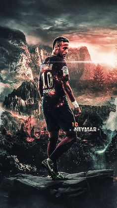 Neymar the best Football Players Images, Best Football Players, Football Art, National Football Teams, Soccer Players, Cr7 Messi, Neymar Psg, Messi And Ronaldo, Neymar Football