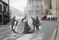 Bristol Then & Now 1941-2010 by brizzle born and bred, via Flickr