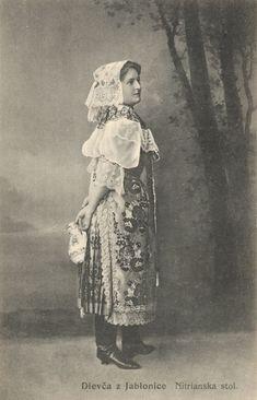 Pavol Socháň: Dievča z Jablonice 1911, Slovakia