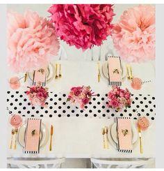 Table decor colour scheme