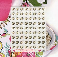 CLEAR Planner Stickers, Bread Planner Stickers, Bakery Stickers, Food Stickers, Erin Condren Planner Stickers, Transparent Stickers (st225#) by CENTERPATCH on Etsy