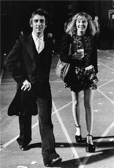 Keith Moon and Pamela Des Barres
