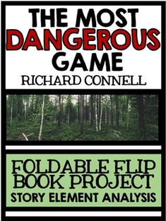 the use of suspense in the most dangerous game a short story by richard connell The short story the most dangerous game by richard connell features an intense man versus man conflict between the two main characters: rainsford and zaroff.
