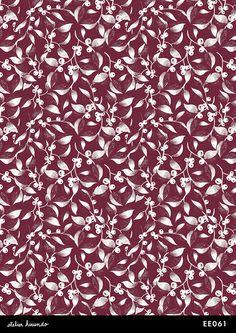 Atelier Hirundo / Elise ENJALBERT #floral #floralprint #textiledesign #flowers #surfacedesign #pattern #motif #patterndesign #print #design #graphic #atelierhirundo