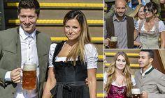 Bayern Munich squad catch the eye at Oktoberfest