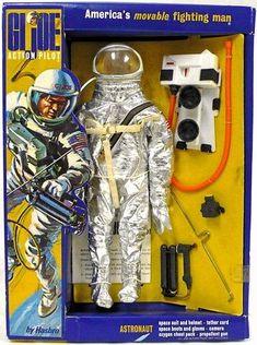 first Gemini astronaut, spacewalk, G. Vintage Toys 1960s, 1960s Toys, Vintage Games, Retro Toys, Gi Joe, Childhood Toys, Childhood Memories, Project Mercury, Space Toys