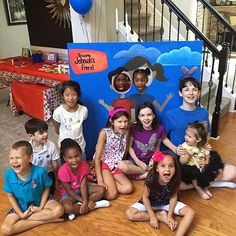 Back to school Caleb and Sophia party in Buford Georgia USA. Photo shared by @tigerlilysalonandboutique by jw_witnesses
