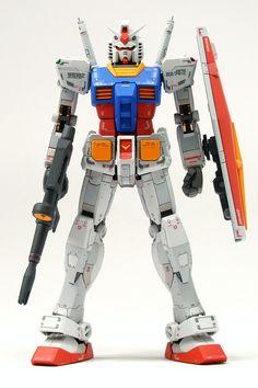 RG 1/144 RX-78-2 Gundam painted build by Chorock - Gundam Kits Collection News and Reviews