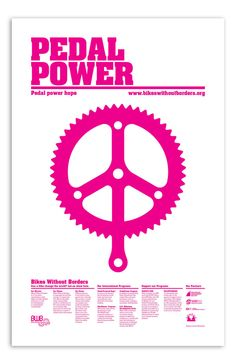 pedal power Peace and Love