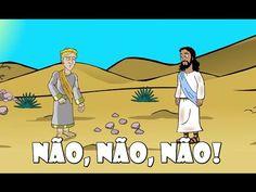 Não! Não! Não! – Episódio 9 - A tentação de Jesus | NT Kids