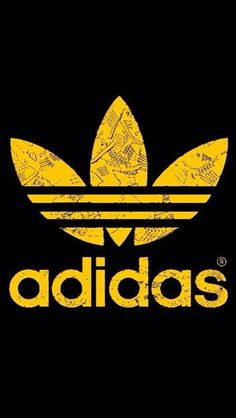 yellow adidas logo - photo #5
