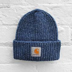 c24cec137ad99 Carhartt Anglistic Beanie - Blue Heather - £34.99