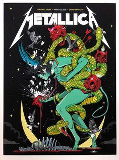 Diary of a Madman Rock Vintage, Metallica Art, Vintage Music Posters, Vintage Movies, Rock Band Posters, Band Wallpapers, Concert Posters, Film Posters, Woodstock