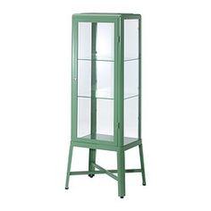 FabrikÖr Glass-door Cabinet, Beige