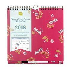 Familienplaner Kalender 2018 von Boxclever Press. Wochenkalender mit Spalten für Box, Calendar, Calendar 2018, Weekly Calendar, December, Memories, Sticker, Shopping, Snare Drum