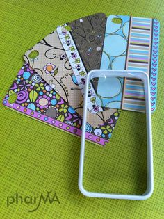 """unknown date; pharMa at """"The Pharma"""" Blog; making your own Interhangeabble iPhone Covers; easy peasy!!"""