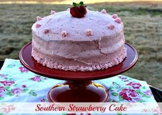 Miss Kay's Southern Strawberry Cake