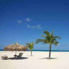 Aruba saved you a warm spot on the beach!