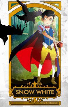 gender bender disney   Disney Gender Bender: Snow White Darkness Prince   Disney
