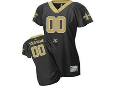693c483ee97 Customized New Orleans Saints Jersey Women Field Flirt Fashion Football  Football Info, Saints Football,