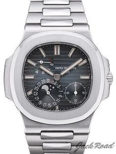 PATEK PHILIPPE (Nautilus Power Reserve Moon Phase) / Ref.5712/1A-001