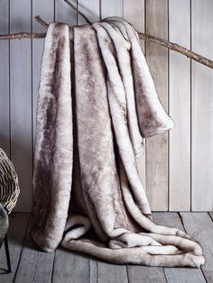 Cox & Cox's luxurious and super soft bestselling long pile faux fur is a…