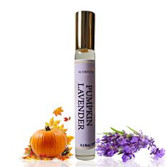 Organic Pumpkin Lavender PERFUME Oil, Pumpkin Lavender Perfume Roll On, Vegan Perfume, Natural Perfume Oil, Gift Idea by ScentualAroma on Etsy