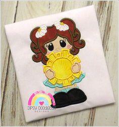 EXCLUSIVE Sunshine Cutie Girls Shirt-  Custom Shirt- You are my sunshine- Personalization Available