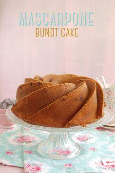 Mascarpone bundt cake | El Pastelito Valiente