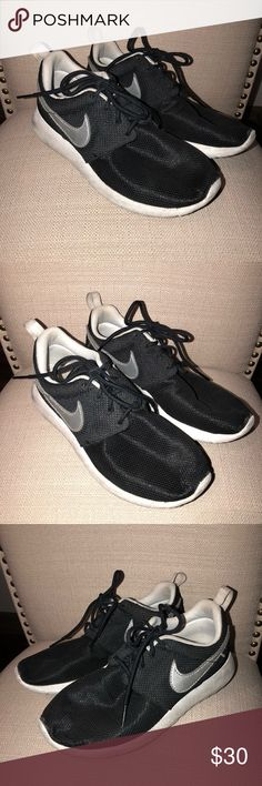 new style dc82b af42a Black Nike Free Runs (Girls) Girls Nike free runs in Euro size - fits a US  Good condition Nike Shoes Sneakers