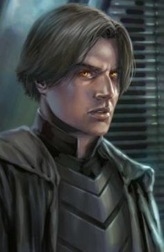 Darth Caedus - Son of Leia and Han. First a Jedi, then turned Sith by the dark side.