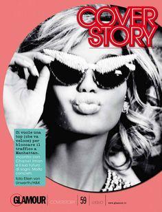 Chanel Iman for Glamour Italia by Ellen von Unwerth