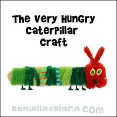 Inchworm Craft For Toddlers
