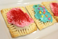 Homemade Pop-Tarts...you will probably never buy the boxed kind again after making this with your kids!